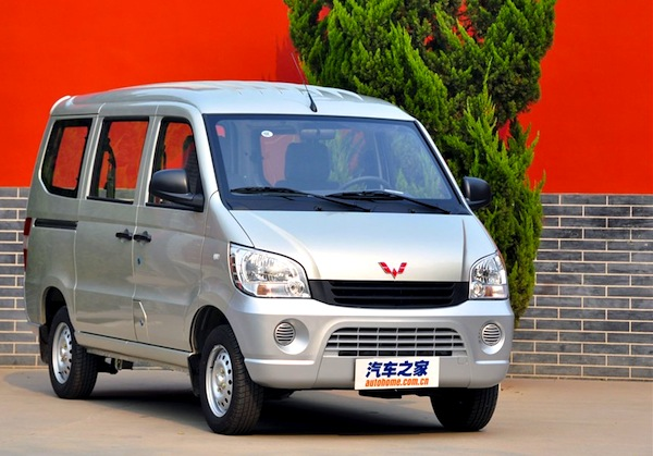 Wuling Sunshine China May 2014. Picture courtesy of autohome.com.cn