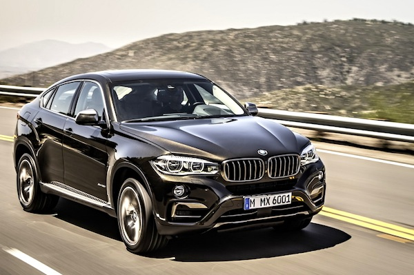 BMW X6 Latvia June 2014. Picture courtesy of largus.fr