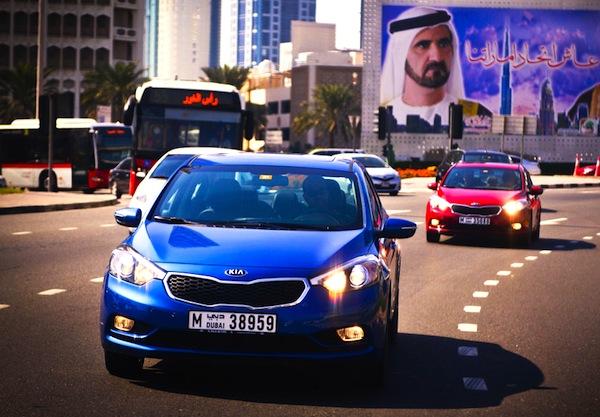 Kia Cerato GCC June 2014. Picture courtesy of motoringme.com