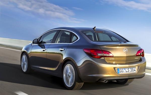 Opel Astra Croatia June 2014