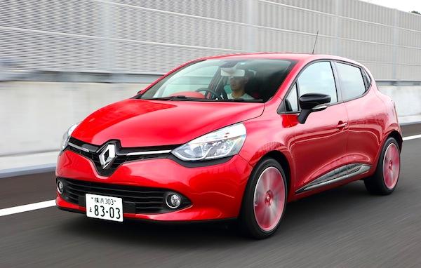 Renault Lutecia Japan June 2014. Picture courtesy of hobidas.com