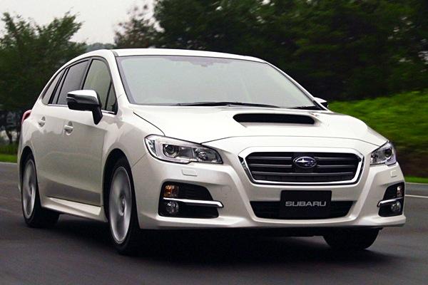 Subaru Levorg Japan June 2014. Picture courtesy of autoc-one.jp