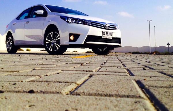 Toyota Corolla Saudi Arabia June 2014. Picture courtesy of motoringme.com