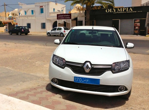 Renault Symbol Djerba July 2014