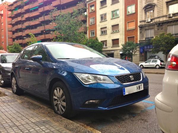 3. Seat Leon Barcelona August 2014