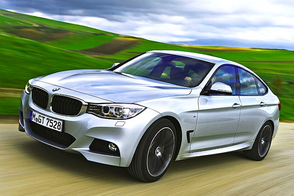 BMW 3 Series GT Germany 2013. Picture courtesy of autobild.de