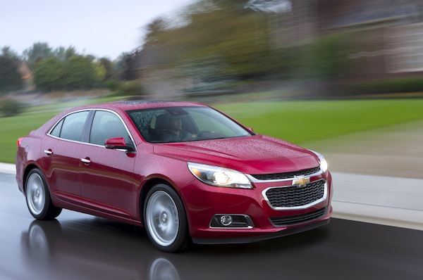 Chevrolet Malibu World 2014. Picture courtesy of motor trend.com