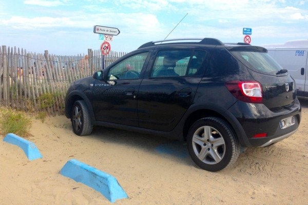 Dacia Sandero Stepway France August 2014