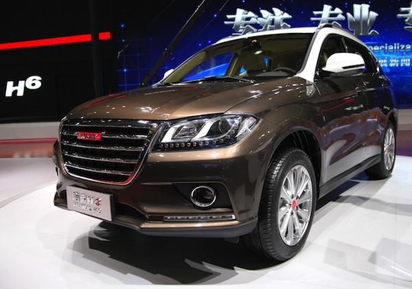 Haval H2 China July 2014. Picture courtesy of autosina.com