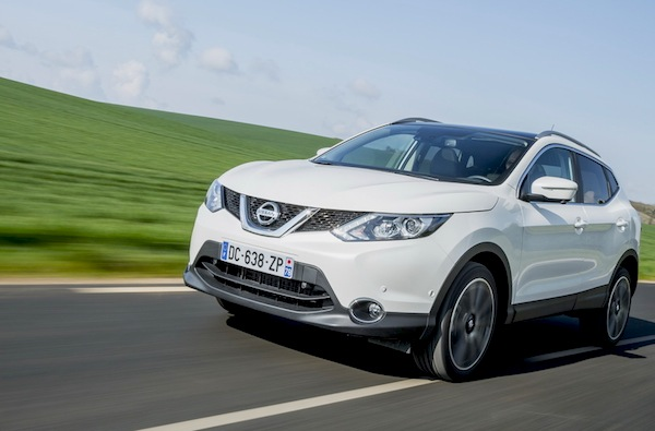 Nissan Qashqai Greece 2014. Picture courtesy of largus.fr