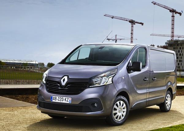 Renault Trafic France September 2014