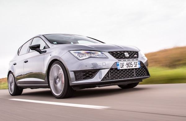 Seat Leon Spain July 2014. Picture courtesy of largus.fr