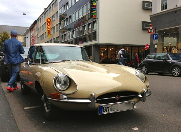 3. Jaguar E Type Germany August 2014