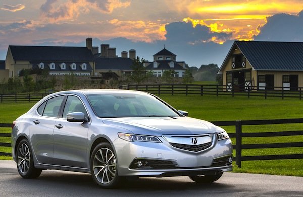 Acura TLX USA August 2014. Picture courtesy of motortrend.com
