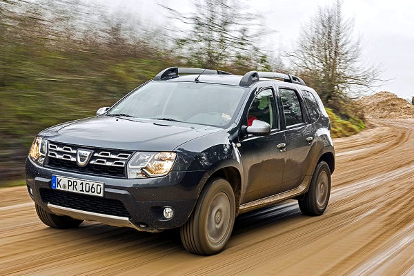 Dacia Duster France May 2016. Picture courtesy of autobild.de