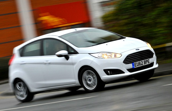 Ford Fiesta UK August 2014. Picture courtesy of whatcar.co.uk