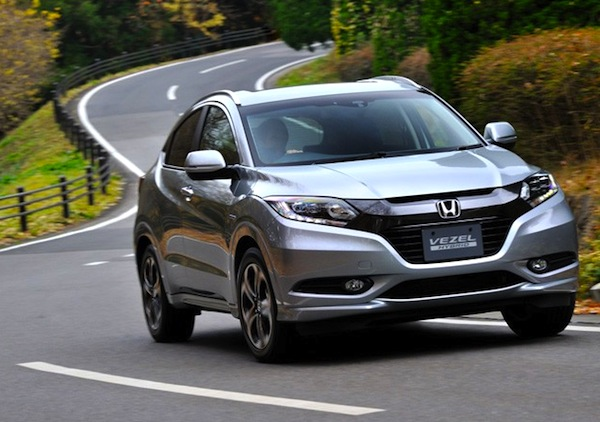 Honda Vezel China November 2014