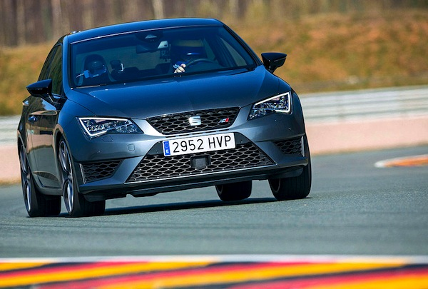 Seat Leon Germany August 2014. Picture courtesy of autobild.de