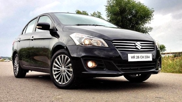 Suzuki Ciaz Egypt January 2015. Picture courtesy of Top Gear