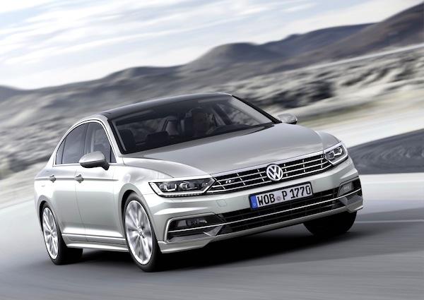 VW Passat Europe August 2014
