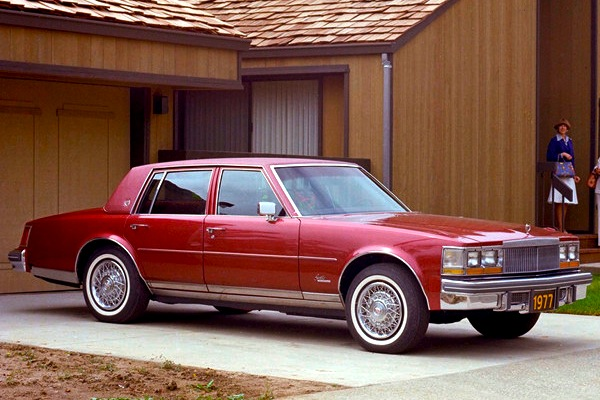 1977 Cadillac Seville. Picture courtesy of autodrive.info