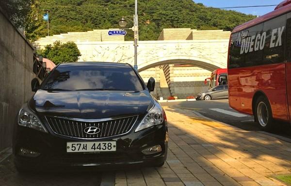 8. Hyundai Grandeur Seoul October 2014