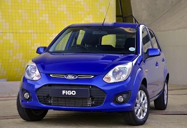Ford Figo Qatar August 2014. Picture courtesy of mouthshut.com