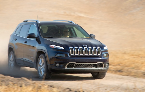 Jeep Cherokee USA August 2016. Picture courtesy of motortrend.com