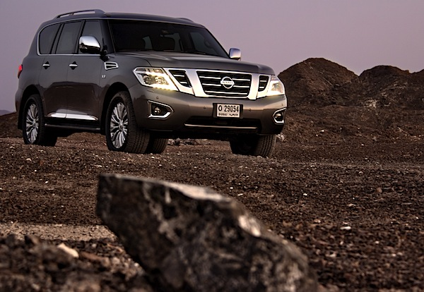 Nissan Patrol Gulf August 2014. Picture courtesy of motoringme.com