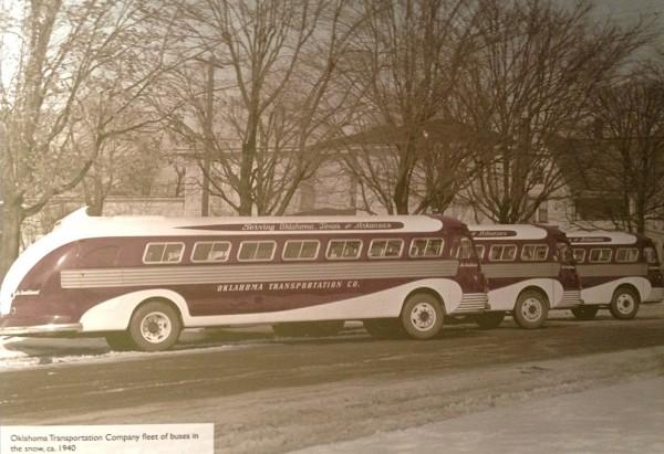Oklahoma buses 1940