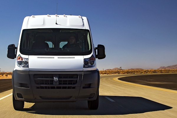 Ram ProMaster USA September 2014. Picture courtesy of motortrend.com