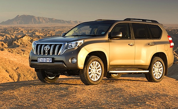 Toyota Prado UAE August 2014. Picture courtesy of drivenews.co.za