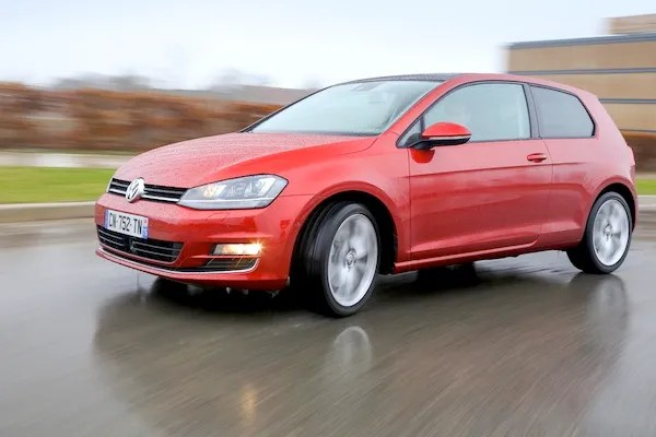 VW Golf World 2015. Picture courtesy of largus.fr