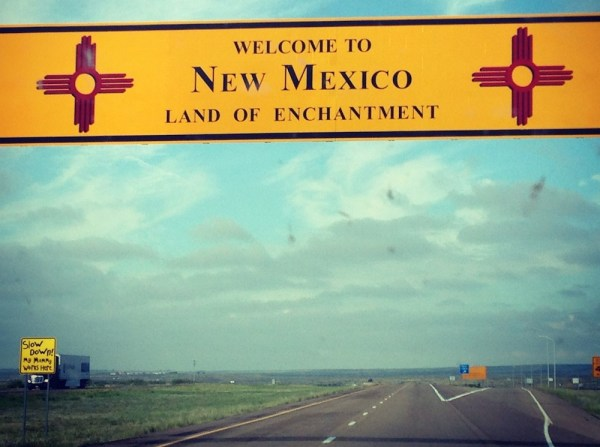 35. New Mexico State Line