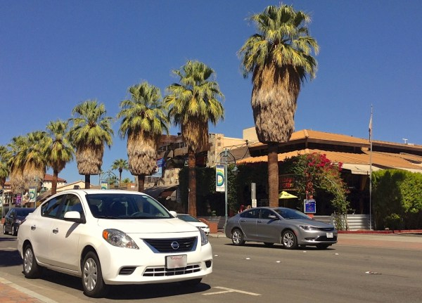 7. Nissan Versa Palm Springs