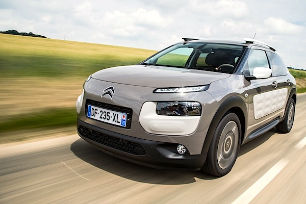 Citroen C4 Cactus Europe October 2014. Picture courtesy of largus.fr