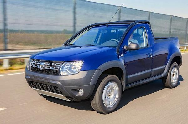 Dacia Duster Pick up Romania October 2014