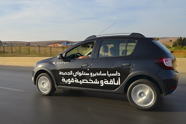 Dacia Sandero Stepway Algeria October 2014. Picture courtesy of dzairauto.com