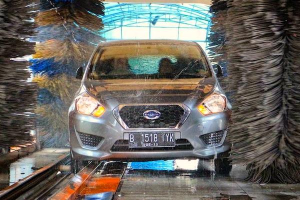 Datsun GO+ Indonesia October 2014. Picture courtesy of thegaspol.com