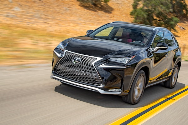 Lexus NX Canada January 2015. Picture courtesy of motortrend.com
