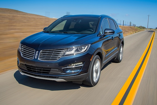 Lincoln MKC USA October 2014. Picture courtesy of motortrend.com