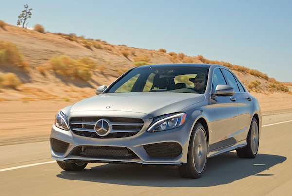 Mercedes C-Class USA November 2014. Picture courtesy of motortrend.com