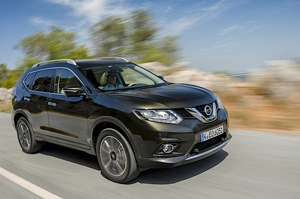 Nissan X-Trail France March 2015