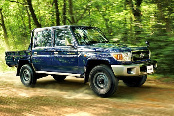 Toyota Land Cruiser 70 Japan October 2014. Picture courtesy of j-sd.net