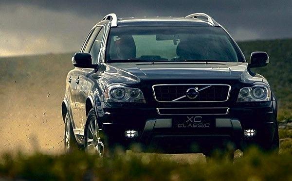 Volvo XC Classic China October 2014. Picture courtesy of pcauto.com.cn