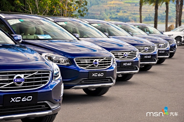 Volvo XC60 China October 2014. Picture courtest of auto.msn.com.cn