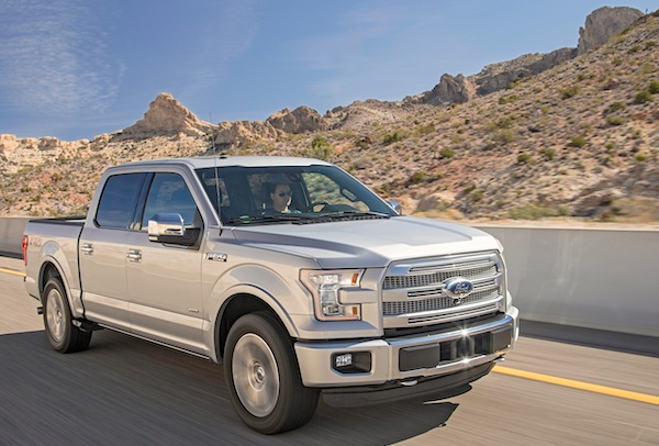 2015 Ford F-150 USA November 2014. Picture courtesy of motortrend.com