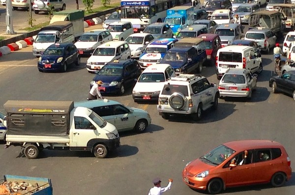 Changhe Pickup Yangon