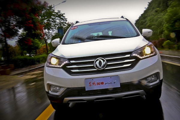 Dongfeng Fengshen AX7 China November 2014. Picture courtesy of auto.sohu.com