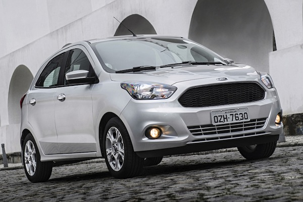 Ford Ka Brazil November 2014